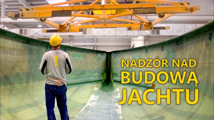 inspekcja budowy jachtu